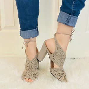 Guess casual heels size 10